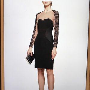 REISS  Black/Nude Dress Size 4